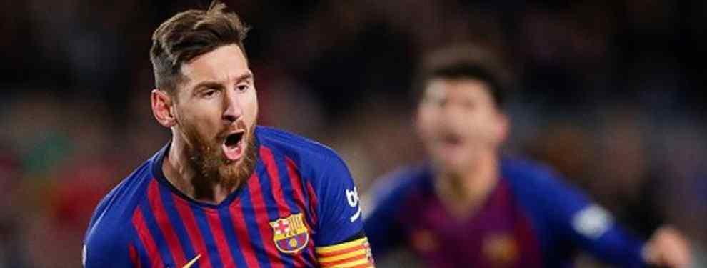 Quiere jugar con Messi. Y pasa de Florentino y el Real Madrid: el galáctico tapado para el Barça