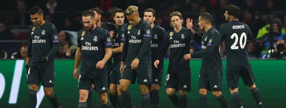 Florentino Pérez salió disgustado, a la par que preocupado, tras el encuentro entre Ajax y Real Madrid. Los de Solari dieron una imagen pésima y lograron un resultado apretado, a la par que inmerecido.