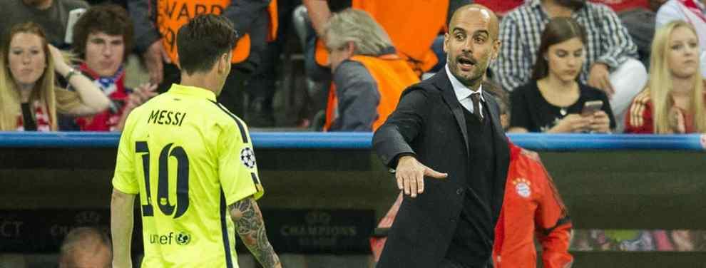 Se lo quitan a Messi y al Barça por 80 millones: Pep Guardiola pasa al ataque con el City