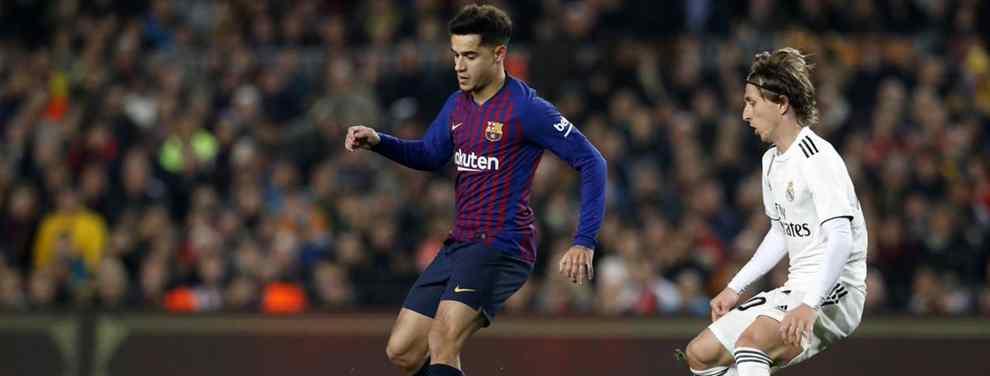 Sin salida. Y nunca mejor dicho. Coutinho se diluye como un azucarillo en el Barça.  El jugador, con una vida social de lo más activa fuera del Camp Nou, ha pasado de futbolista franquicia a bulto molesto.