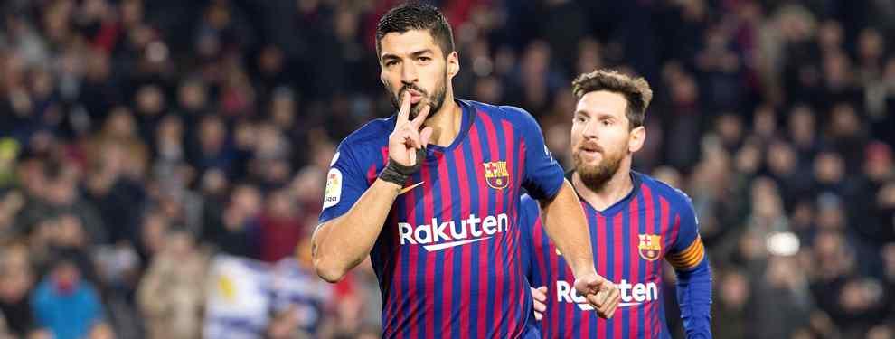 Luis Suárez (y Messi lo sabe) tiene una oferta millonaria para salir del Barça
