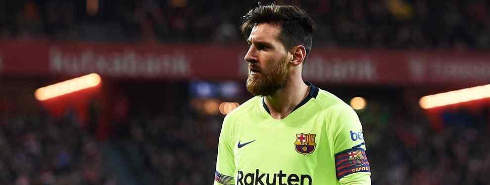 Messi descarta la llegada de un galáctico al Barça (y te explicamos el porqué)