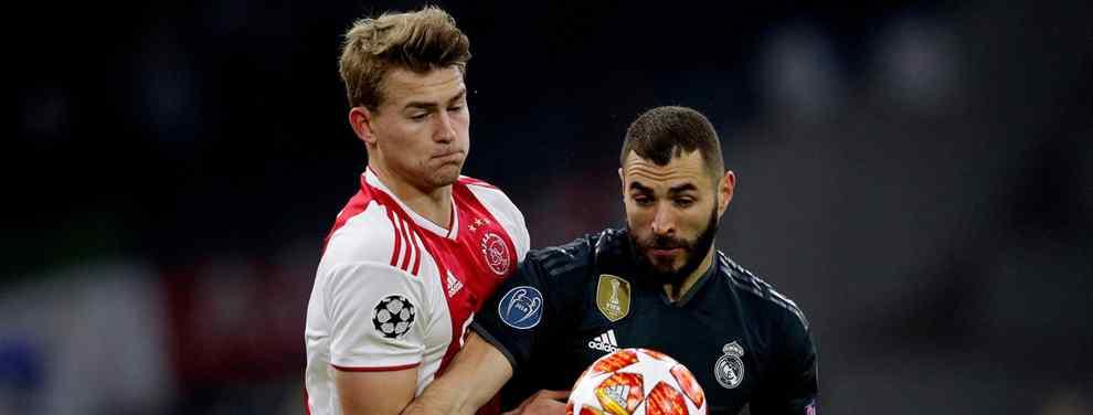 El codiciado Matthijs de Ligt elige destino (y Messi y Florentino Pérez alucinan)