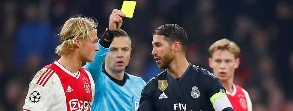 Los tres fichajes para la defensa del Real Madrid: Florentino Pérez elige al nuevo Sergio Ramos
