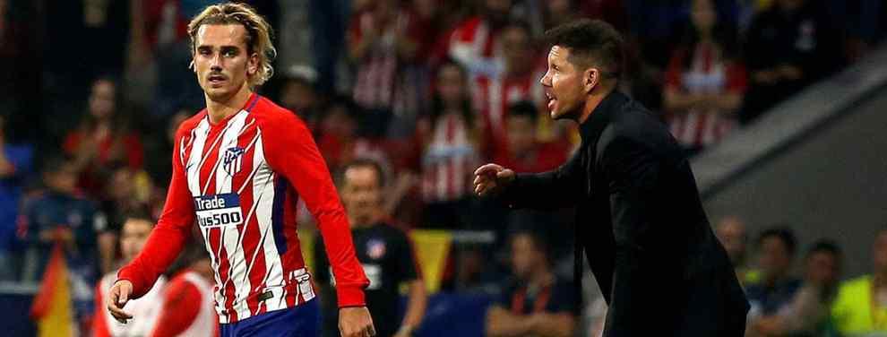 El nuevo sueldo de Simeone en el Atlético de Madrid deja a Griezmann con la boca abierta