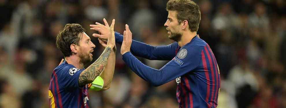 La charla de Messi con Piqué que revoluciona el futuro del Barça (y pide un delantero)
