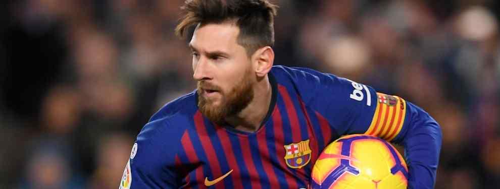Messi lo frena: el bochornoso espectáculo que ensucia el Barça-Valladolid (y es muy bestia)