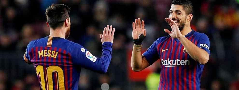 El delantero TOP que Messi ha vetado al Barça como sustituto de Luis Suárez