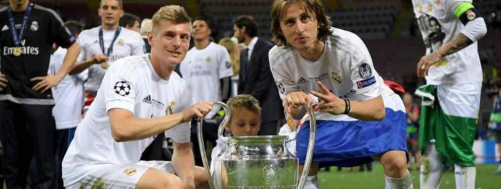 El Real Madrid pone nombre al sustituto de Kroos y Modric (costará 150 millones y llegará en verano)