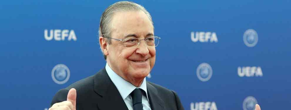 Florentino Pérez da el OK a la salida de un futbolista del Real Madrid (y apunta a Alemania)