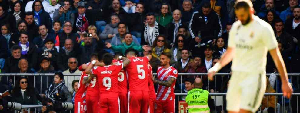 Florentino Pérez señala a los cinco responsables de la derrota del Real Madrid (y están en la calle)