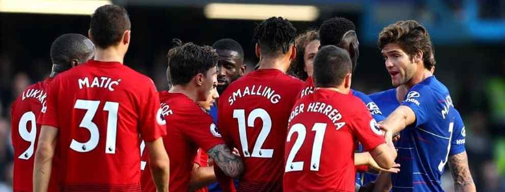 El Manchester United puede convertirse en compañero, y a la vez en verdugo, de Florentino Pérez y del Real Madrid. El equipo inglés pretende cerrar una venta y encauzar dos fichajes galácticos este verano.