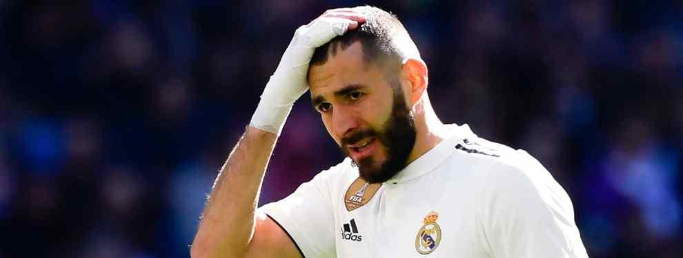 Pillan a Benzema: Sergi Ramos lo tapa. Y Solari no sabe dónde meterse