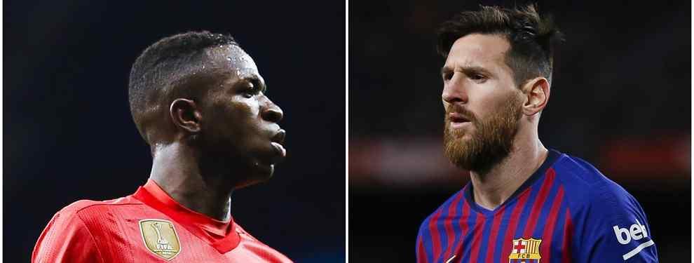 Messi estalla tras conocer el fichaje que prepara el Barça (y es un amigo de Vinicius)
