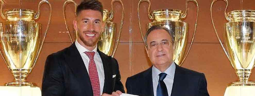 Sergio Ramos, antes de que llegue Neymar, sigue siendo el capo del Real Madrid, y el que toma, junto a Florentino Pérez, las decisiones de peso. Por ejemplo, las llegadas y las salidas.