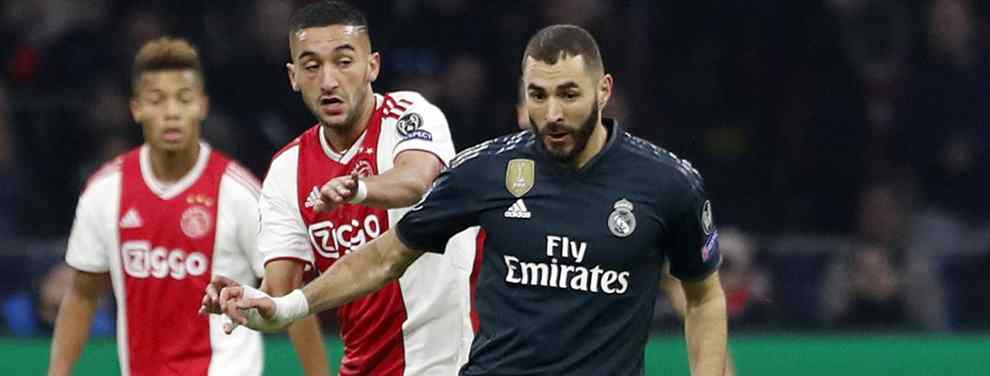 La reunión de Benzema con el Barça que sale a la luz (y pone al Real Madrid patas arriba)