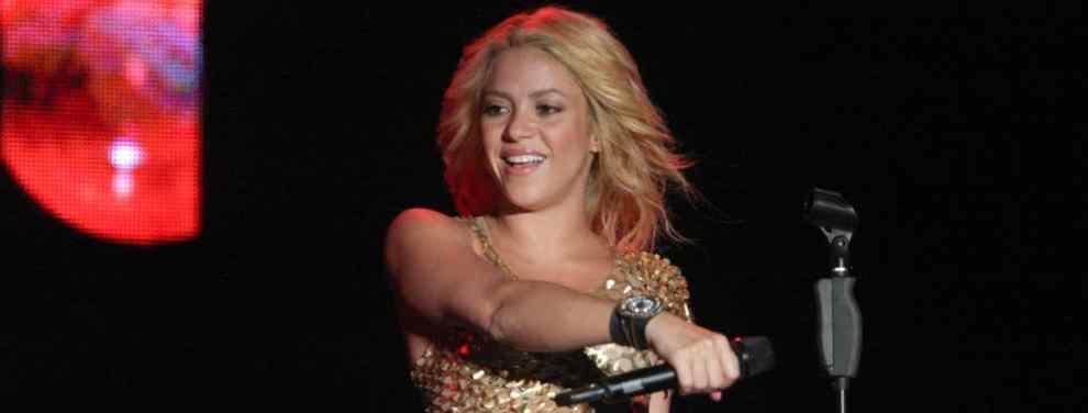 Shakira se lía a golpes y puñetazos: el video que arrasa España
