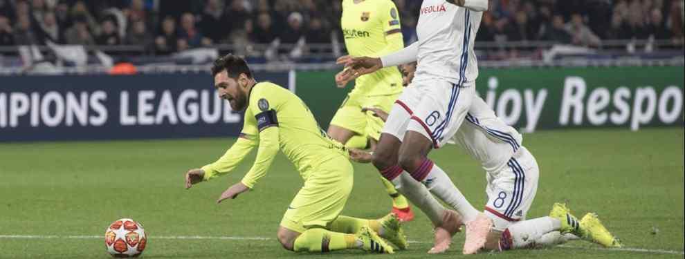 Messi suelta la bomba en el Olympique de Lyon-Barça: no los quiere ni ver