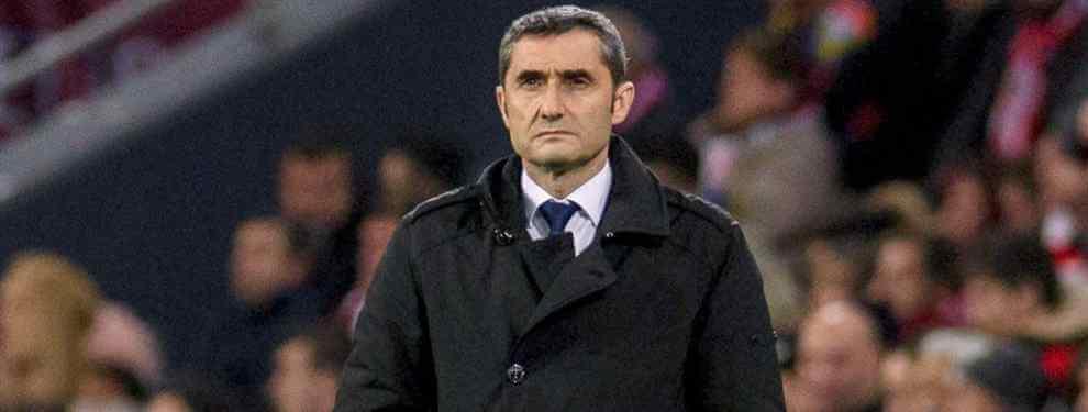Broncazo. Y de los gordos. La afición del Barcelona era y es un clamor contra Valverde en las redes sociales por su planteamiento ante Olympique de Lyon en el que el Barça pareció un corre calles y perdió totalmente el ADN