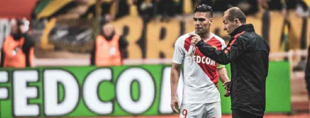 Radamel Falcao no seguirá en Mónaco al término de la presente campaña.  El 'Tigre' está dispuesto a rebajar sus pretensiones salariales para brillar con luz propia en un grande antes de dar por finiquitada su etapa en Europa.