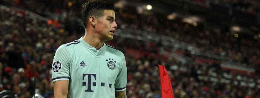 James Rodríguez elige destino para la temporada 2019-20 (y hay sorpresa bomba)