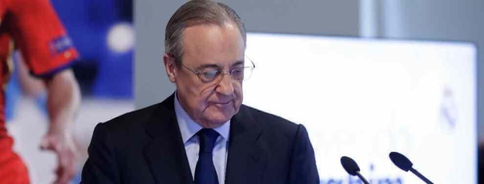Portazo a Florentino (y de los que pican) el fichaje cantado que rechaza aterrizar en el Real Madrid