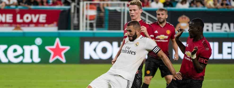 El galáctico tapado que desata la guerra entre Florentino Pérez y el Manchester United