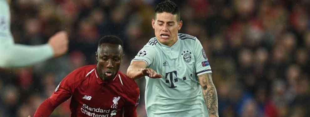 James Rodríguez no se esconde y no tiene reparos en mostrar su deseo de regresar al Real Madrid una vez acabe su cesión en el Bayern de Múnich, donde no cuenta para el entrenador, Niko Kovac.