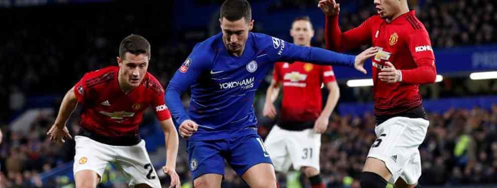 Eden Hazard tiene pie y medio fuera del Chelsea. El astro belga finaliza contrato en 2020 y, de momento, las intentonas de la directiva por renovarle han sido en vano.