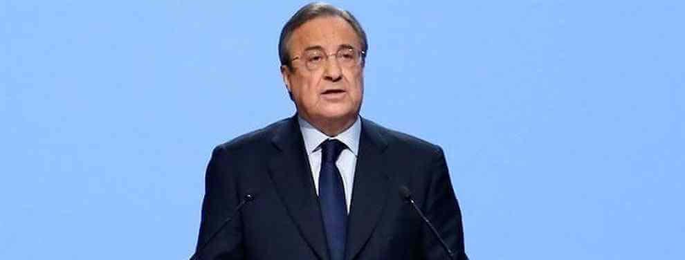 Fichaje sorpresa de Florentino Pérez: el nuevo crack que se acerca al Real Madrid