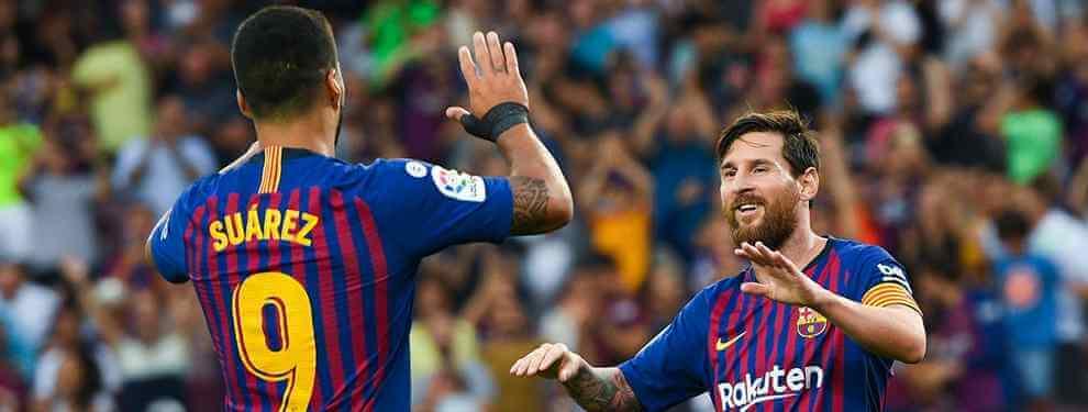 Messi protege a Luis Suárez: los siete delanteros (y algunos de risa) para no quitarle el puesto
