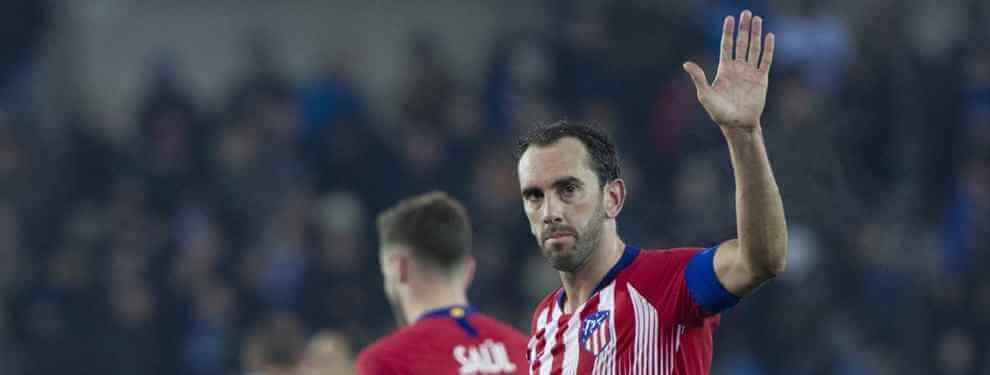 El Atlético se lanza a por un central TOP que gusta al Real Madrid para suplir a Diego Godín