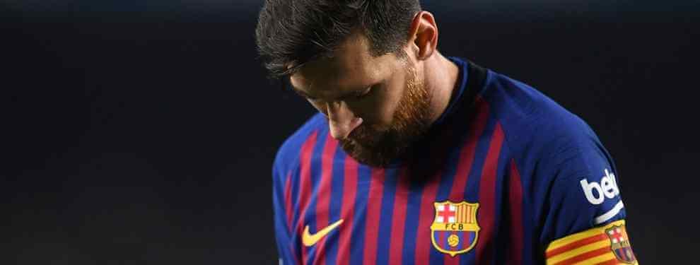 El jugador del Barça que Leo Messi no quiere que sea titular contra el Real Madrid