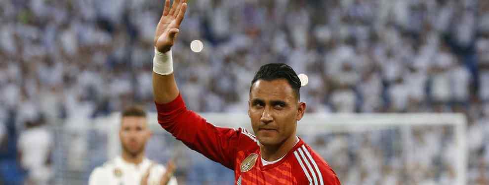Florentino Pérez pone nombre al sustituto de Keylor Navas el año próximo (y es de la liga)