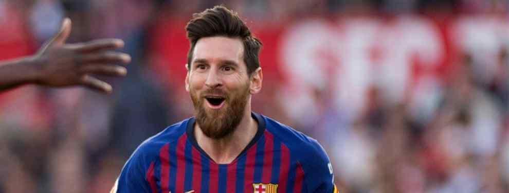 La sorpresa que tenía guardada el Barça para Messi en enero y que no fichó por culpa de Lenglet