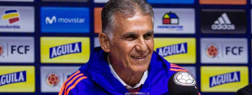El crack que Queiroz está dispuesto a 'cargarse' en la selección de Colombia (y no es Murillo)