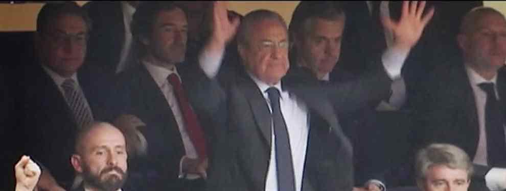 Florentino Pérez calienta el Clásico con un bombazo a Messi (y al Barça)