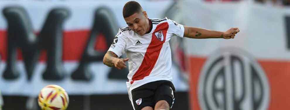El gran momento de forma de Juan Quintero no pasa desapercibido en Europa. Tras el adiós del 'Pity' Martínez, el cafetero se ha consolidado como la gran estrella de River Plate, como volvió a demostrar ante San Martín de Tucumán.