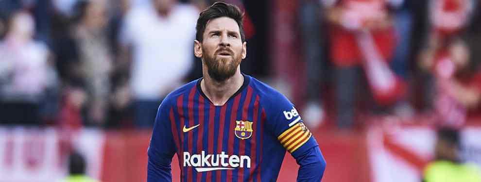 El Barça 'pasa' de dos estrellas galácticas por orden de Messi (y una es un bombazo)