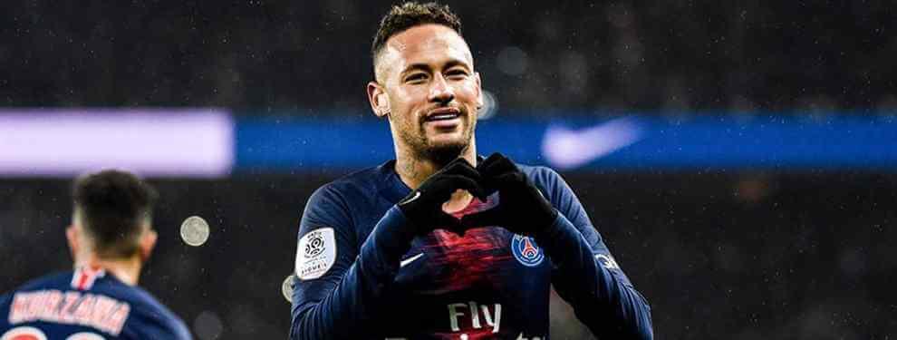 """""""Que Neymar sigue no es al 100%, es al 2.000%. Se quedará en París. Muchos medios, especialmente en Francia, afirman que tendríamos que vender a Neymar o Kylian. Quiero confirmar que Kylian y Neymar se quedarán aquí """""""