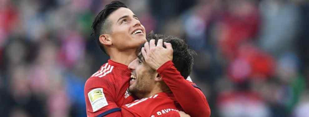 Última hora con el futuro de James Rodríguez: el giro en el Bayern de Múnich