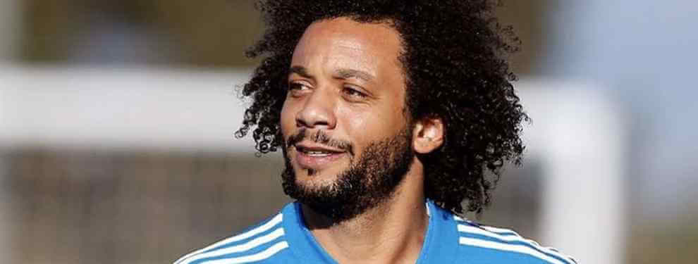 Marcelo vive sus últimos días vestido de blanco. El brasileño, ya entrado en la treintena, ha bajado su rendimiento de manera considerable hasta el punto de perder su condición de titular.