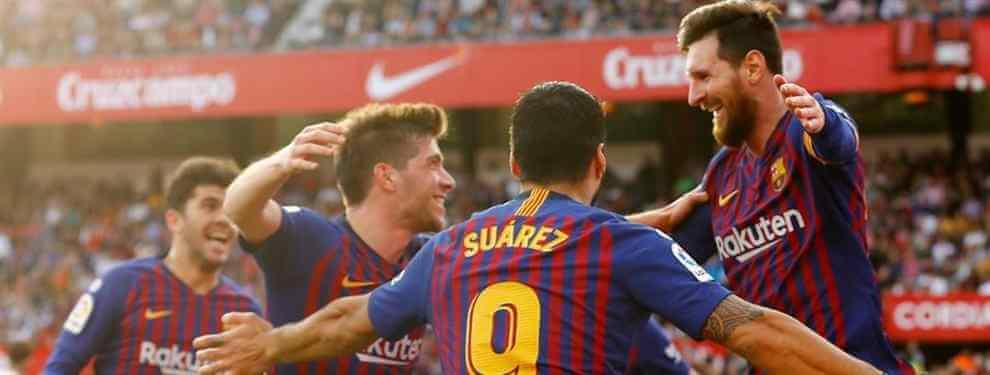 Los 14 espionajes del Barça a un fichaje de Florentino Pérez para el Real Madrid