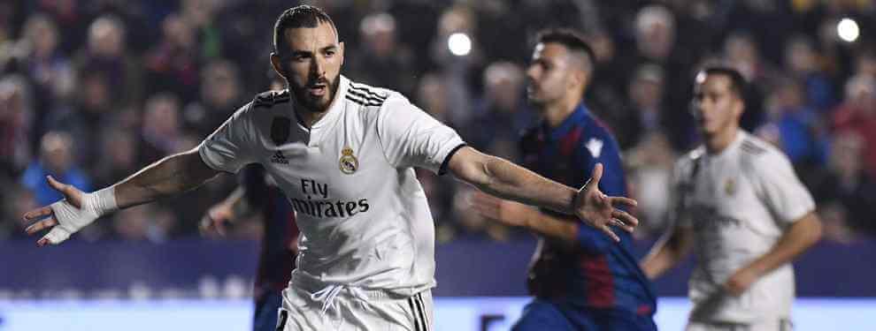 Benzema traga saliva: la bronca de las broncas en el Real Madrid a horas del Clásico