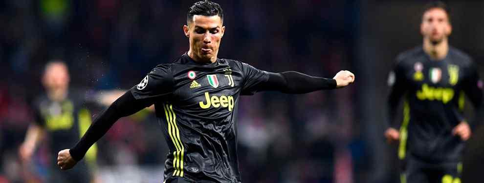 Cristiano Ronaldo tiene un ojo en Italia y otro puesto en España.  El portugués sigue con amor odio la suerte de un Real Madrid en el que fue ídolo.