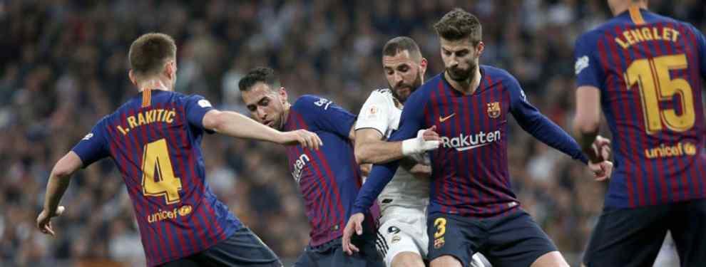 Dolorosa derrota del Real Madrid en el Santiago Bernabéu ante el eterno rival, el Barça, que supone la eliminación de la Copa del Rey, donde Messi y compañía ya esperan en la final.