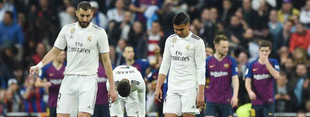 Impresionante: el crack del Real Madrid que acabó llorando tras la goleada del Barça