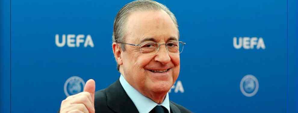 El galáctico que pide a Florentino Pérez cinco despidos (y una bomba) para ir al Real Madrid