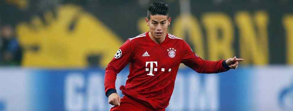 James Rodríguez tiembla. El crack del Bayern de Múnich aún tenía la esperanza de regresar al Real Madrid, pero tras conocer el nombre del que será el futuro entrenador, ha decidido descartar la idea.
