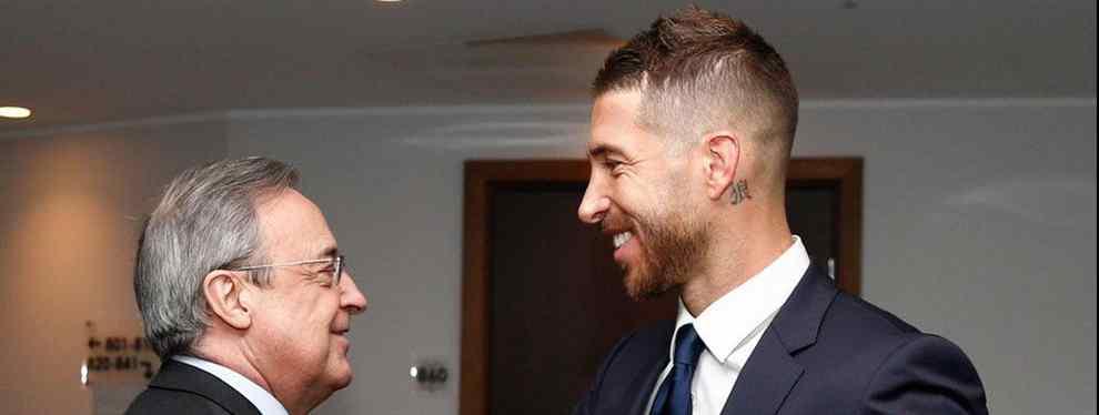 Florentino Pérez pacta con Sergio Ramos un fichaje para cargarse a una estrella del Real Madrid